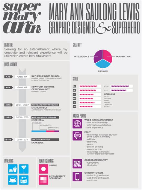 Graphic Design Resume Design by Creative Resumes That Put Yours To Shame Flashuser