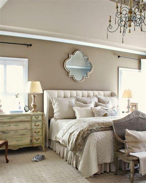deco chambre beige  blanc visuel