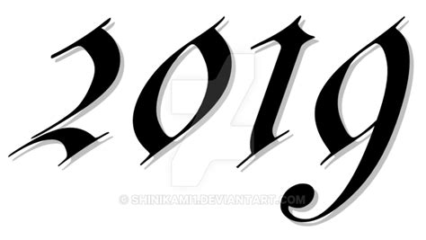 2019 Happy New Year Transparent Png Pictures