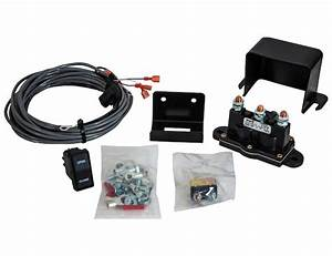 Tarp Rocker Switch Kit With Solenoid
