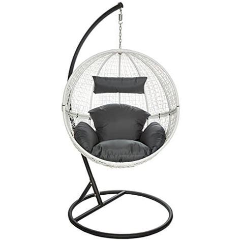 chaise hamac suspendu tectake chaise hamac avec support fauteuil suspendu de