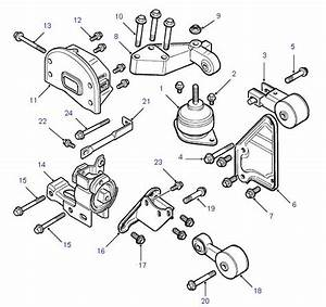 Land Rover Parts - Engine Mounts