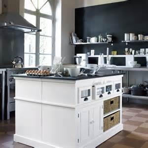 du nouveau pour ma cuisine chez maisons du monde meuble 233 vier zinc maisons du monde d 233 co