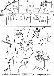 Yamaha Motorcycle 1995 Oem Parts Diagram For Electrical