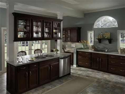 kitchen cabinets espresso finish jdssupply caruth by armstrong cabinets 6042