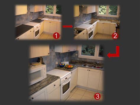 renovation cuisine plan de travail plan granit marbre quartz cuisine salle de bain