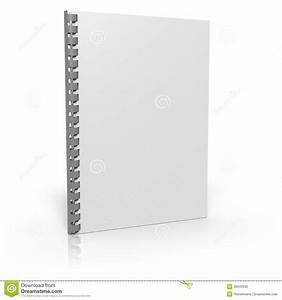 document binder on white background stock photo image With corporate documents binder