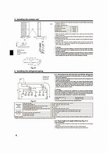Mitsubishi Mr Slim Pea Mxz 8a140va Air Conditioner Installation Manual
