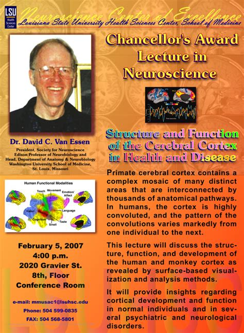 lsuhsc school medicine neuroscience center excellence calendar