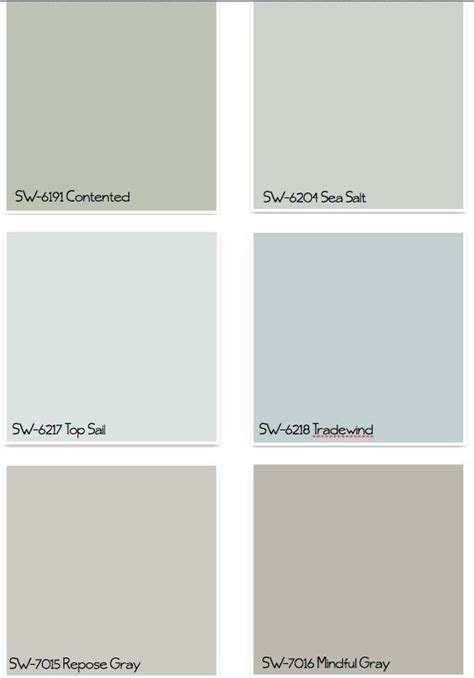 sherman williams colors 17 best ideas about coastal paint colors on