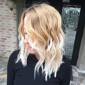 Ombre Hair Blond Polaire : ombre blond f r braune und blonde haare f rbetechniken im trend ~ Nature-et-papiers.com Idées de Décoration