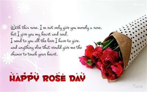 happy rose day  quotes wallpaper