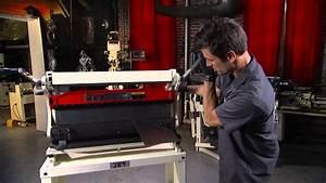 Jet Combination Shear  Brake And Roll Metalforming Demo