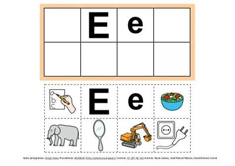 abecedario  pictogramas en formato  abecedario