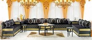 Banquette Marocaine Moderne : salon moderne marocain ~ Dode.kayakingforconservation.com Idées de Décoration
