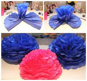 diy tissue paper flower decor tutorial the