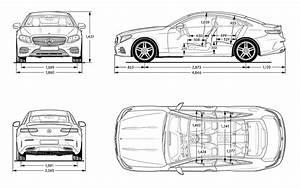 Dimension Classe A 2017 : mercedes benz e class c238 2017 blueprint download free blueprint for 3d modeling ~ Medecine-chirurgie-esthetiques.com Avis de Voitures