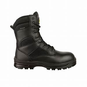 Dickies Workwear Size Chart Amblers Combat Boot Black High Leg Boots Charnwood