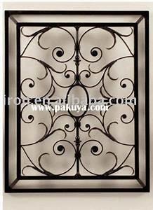 Grille Metal Decorative : cast iron wall scroll home decor iron wall grille balcony style metal scroll design ideas ~ Melissatoandfro.com Idées de Décoration