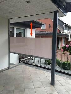 Balkon Windschutz Durchsichtig : terrasse wetterschutz durchsichtig und aufrollbar auf ma ~ Markanthonyermac.com Haus und Dekorationen