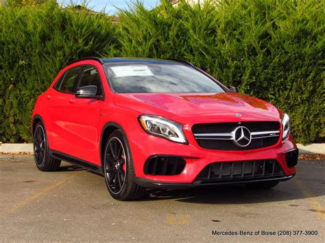 The banshee amg gla45's rocket ship appeal dilutes considerably in the. New 2019 Mercedes-Benz GLA AMG® GLA 45 4MATIC SUV Sport Utility in Boise #19M3202 | Lyle Pearson ...