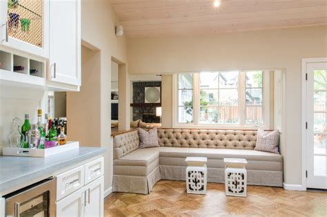 Benches For Living Room Seating : Magnificent Banquette Seating Decorating Ideas