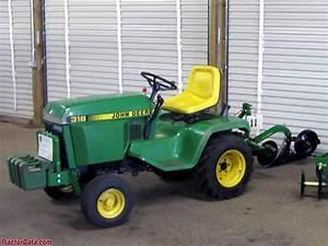 John Deere 318 Garden Tractor Attachments