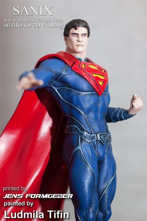 superman  printable model wwwmalixdesigncom