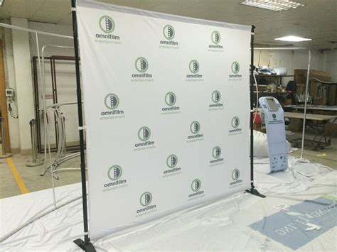 Backdrop Display by Backdrop Stand For Banners Displays Step Repeat Walls