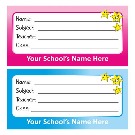 water bottle pack name tag stickers stickers for teachers