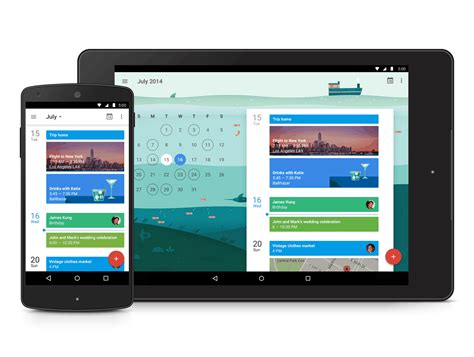 calendar app for android calendar app joins the list of apps made with