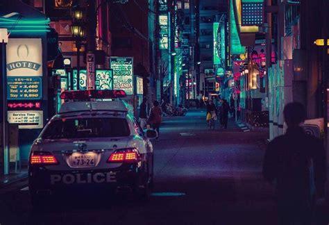 tokyo nights photography  liam wong fubiz media