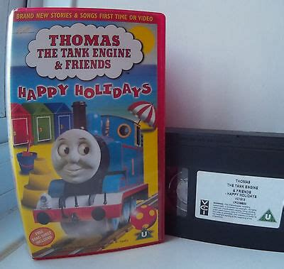the tank engine friends happy holidays vhs 163 5 25 picclick uk