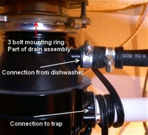 how to remove garbage disposal from sink how to remove a garbage disposal repair and re install