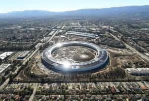 siege social de apple en images découvrez le nouvel apple park aux allures de