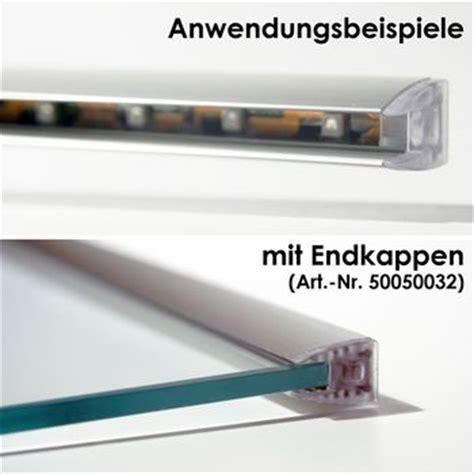 Led Für Glasböden by 1m Led Alu Glaskanten Profil F 252 R Glaskantenbeleuchtung