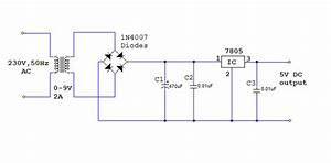 How To Convert 220 V Ac To 5 V Dc For My Breadboard Power Supply