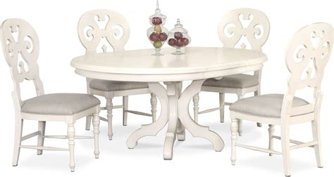 charleston  dining table   scroll  side