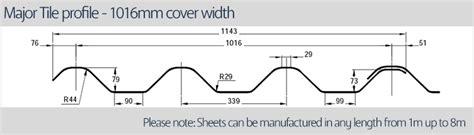 major tile profile grp sheets accord steel cladding