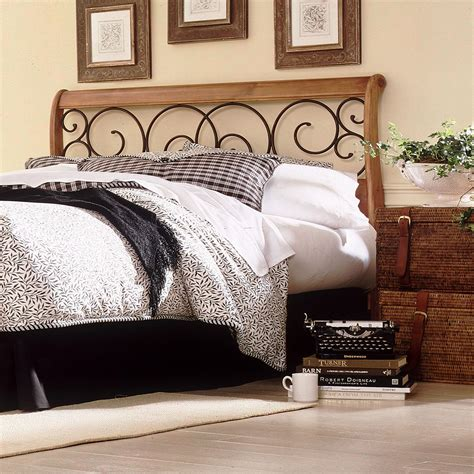 Wood Headboards King by Dunhill Wood Headboard With Sleigh Style