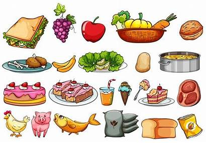 Ingredients Clipart Vector Illustration Graphics Icons