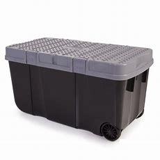 90l Funky Tough Box On Wheels  4 Pack  Plastic Box Shop