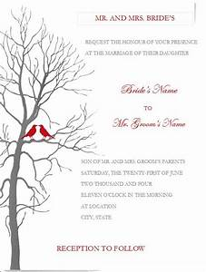 free printable wedding invitation templates for word With template for wedding invitations in microsoft word