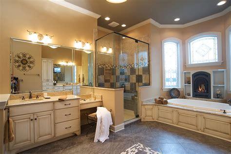 bathroom tile ideas and designs mullet cabinet cozy master bath