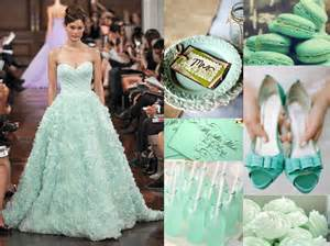mint green wedding decorations the wedding insiders 2013 wedding color