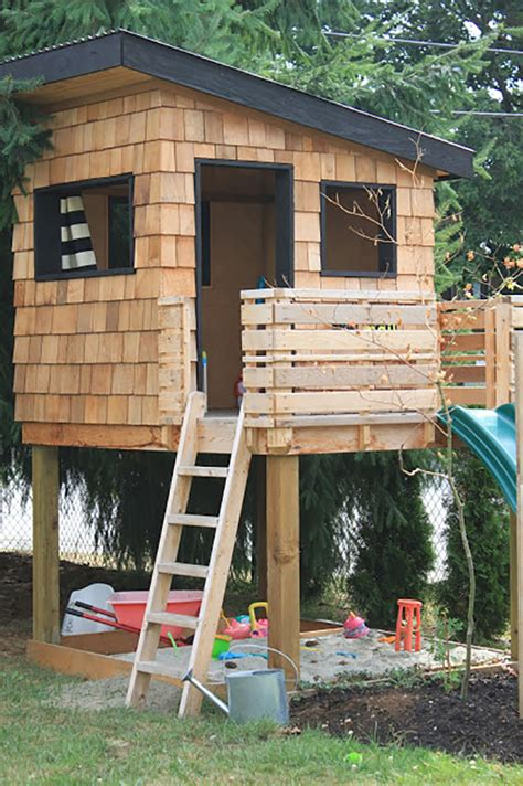 backyard built and lois10 favorite backyard playhouses and lois