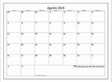Calendarios agosto 2019 LD Michel Zbinden ES