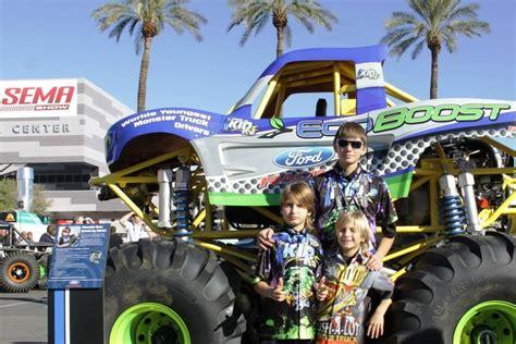 monster truck shows 2013 photos sema show 2013 team kid kj monster truck racing
