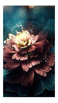 Digital flower wallpaper | 3d and abstract | Wallpaper Better