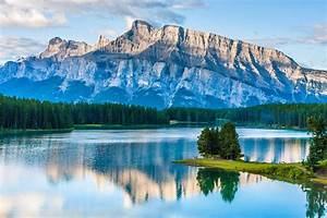 Body, Of, Water, Mountains, Nature, Lake, Water, Trees
